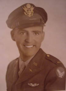 Lt. Bill Parrish, Army Air Force, WWII