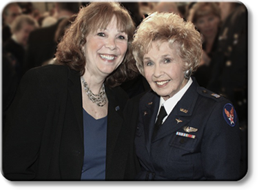 Nancy Parrish, Deanie Parrish, Wings Across America, WASP WWII