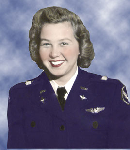 WASP Deanie Parrish, WWII pilot, Army Air Force